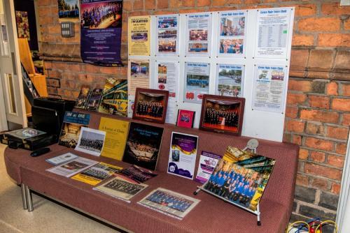 2014 - Choir History Display 2