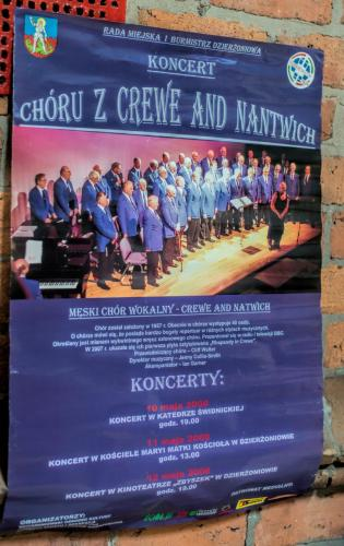 Overseas Poster of the Choir