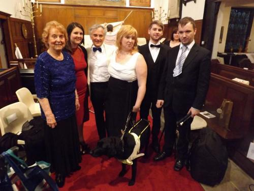 2014 - Holmes Chapel Concert picture of soloists
