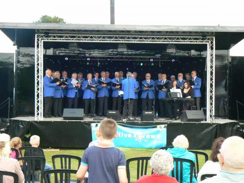 2015 - Creative Crewe Event: Picnic in the Park 1