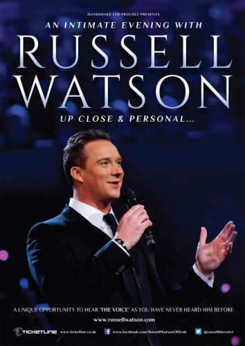 2015 - the Choir provides back up singers for Russell Watson