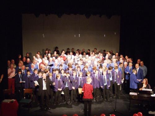 2014 - Sing for your Heart Concert Massed Choirs